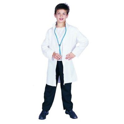 White Lab Coat Er Doctor Dr Child Costume Scientist Scrubs Kids Boy Girl 90030
