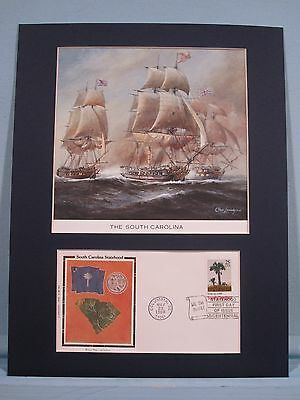 The South Carolina & the American Revolution Naval History & First Day Cover