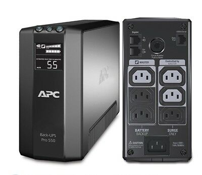 APC BR550GI Power-Saving Back-UPS PRO 550VA 330W UPS TOWER 2 YRS