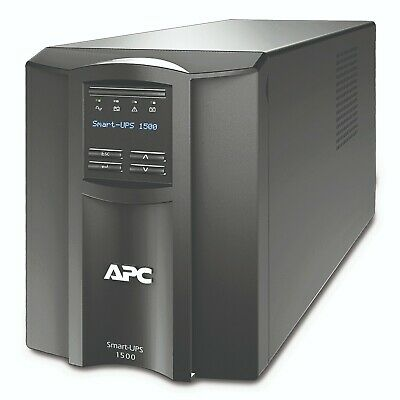 APC SMT1500I Smart-UPS 1500VA 980W LCD 230V TOWER UPS 3YRs Warranty