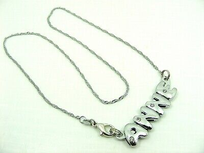 1 x GIRL High Quality PERSONALISED Name CHARMS Chain BRACELET or Chain NECKLACE