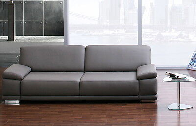 ledercouch garnitur sofa 3er sofa 2er sessel gr n leder rw echt federkern top eur 235 56. Black Bedroom Furniture Sets. Home Design Ideas