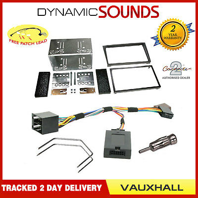 4 digit Car Stereo Fascia Double Din Fitting Kit For Vauxhall Vectra C 2003-2005