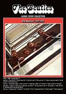 The Beatles 1962-1966 Red Album Cover Postcard Picture Gift Idea 100% Official