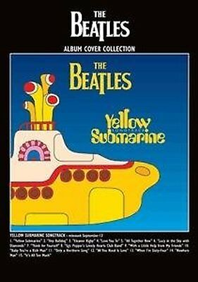 The Beatles Yellow Submarine Songtrack Album Cover Postcard Gift Idea Official