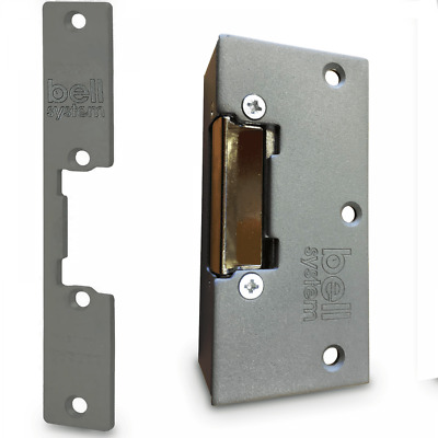 Bell System Model 210 Lock Release Electric Strike for Door Access Control AC/DC