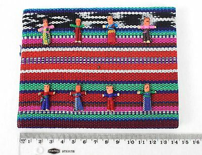 Worry Doll Dolls Notebook Diary Journal Made By Mayan Artisans Fair Trade