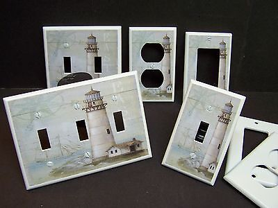 Lighthouse Nautical #3   Light Switch Cover Plate Or Outlet Cover