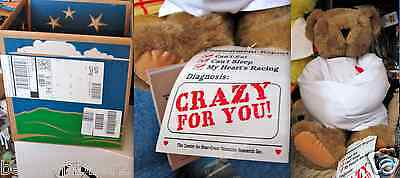 Valentine's Day Crazy for You Bear Vermont Teddy Bear Co Straight Jacket