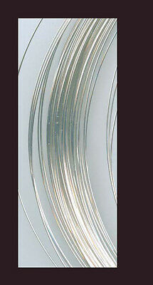 925 silver round wire gauge 28  for jewelry making,  5 ft