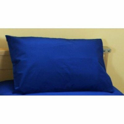 cot bed/junior pillowcase - infant pillowcase - baby pillowcase - royal blue