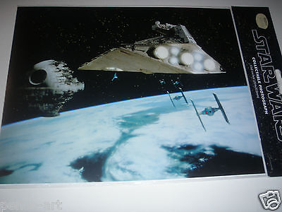 Star wars photo space scene. Official photograph 10x8""