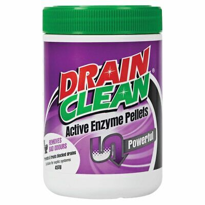 Actizyme Activated Enzyme Drain Cleaner & Odour Eliminator 450g Tub Aust Made