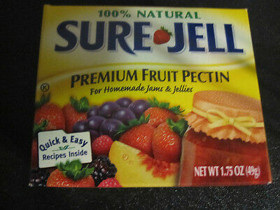 Sure Jell Premium Fruit Pectin 100% Natural