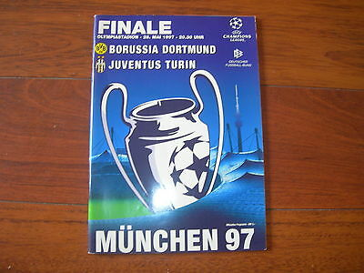 1997 CHAMPIONS LEAGUE FINAL BORUSSIA DORTMUND v JUVENTUS