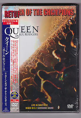 Queen + Paul Rodgers , Return of the Champions , Live in Sheffield ( DVD_Japan )