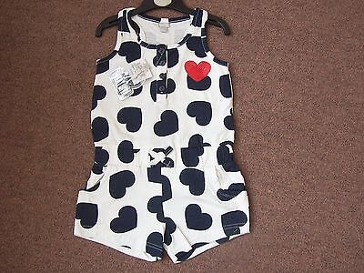GIRLS NWT all in one romper playsuit jumpsuit 2-3 3-4 5-6 7-8 9-10 11-12 yrs