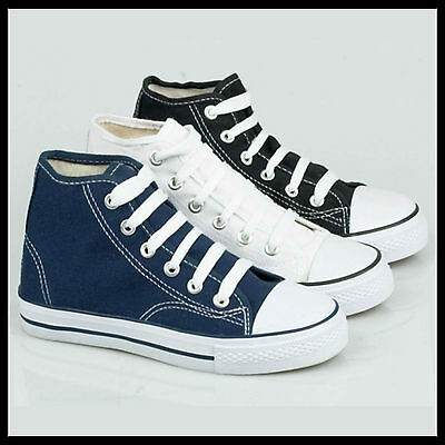 WHOLESALE Mens High Top Canvas Baseball Boot Pumps   Sizes 6-11 x18pairs   X0002