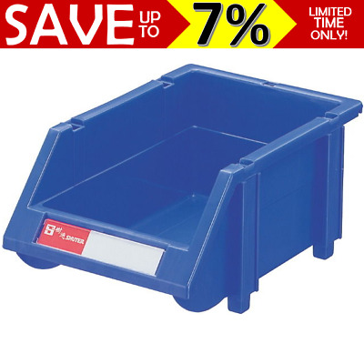 Tools parts storage bin stackable sorter container for home workshop factory 12