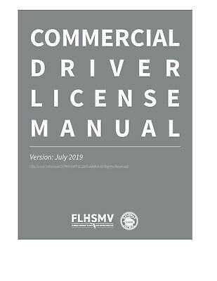 COMMERCIAL DRIVER/'S MANUAL FOR CDL TRAINING ON CD IN PDF PROGRAM. CONNECTICUT