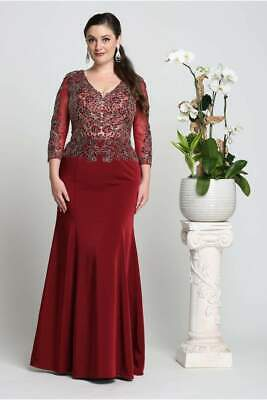 Mother Of The Groom Plus Size Dress Special Occasion Formal Evening Church Gown
