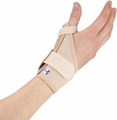 Medical Thumb Wrist Support Splint : Elastic Brace for Sprain Pain Tendonitis