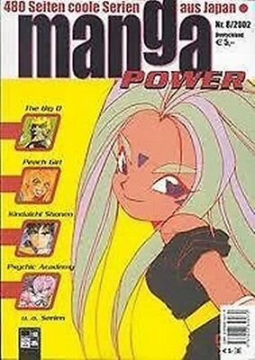 Manga Power Nr. 8 u.a Peach Girl, Chobits, Turn A Gundam, Psychic Academy