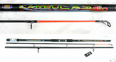 Lineaeffe Carbocast beachcaster/surf rod 14ft 3-7oz carbon sea rod in bag