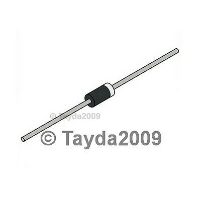 100 x 1N5402 Rectifier Diode 3A 200V - FREE SHIPPING