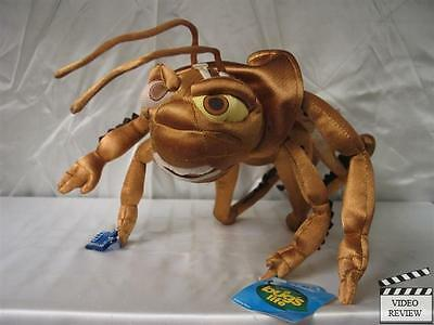 Hopper poseable plush, A Bug's Life; Applause NEW