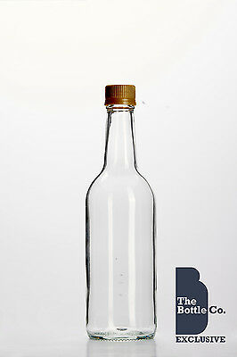 28 x 500ml MINERAL JUICE BOTTLE CORDIAL CIDER GLASS APPLE JUICE NEW