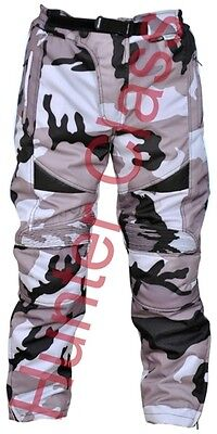 Kids motorcycle motorbike textile motocross  trouser CE armour children clothing