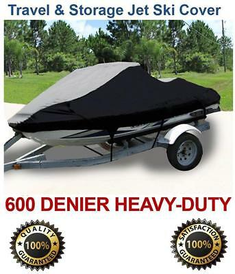 Seadoo Gti 2001 2002 2003 2004 2005 Jet Ski Watercraft Cover Black/Grey