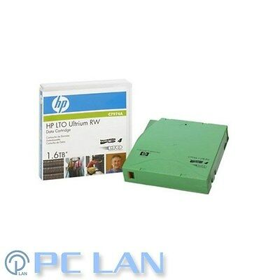 HP LTO-4 Ultrium 1.6TB RW Data Cartridge P/N: C7974A Brand New