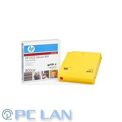 HP LTO-3 Ultrium 800Gb RW Data Cartridge P/N: C7973A Brand New