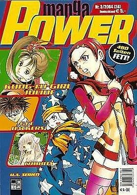 Manga Power Nr. 24 u.a Chobits, Psychic Academy, RAVE, Get Backers, Peach Girl