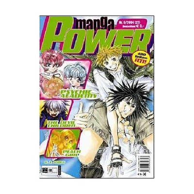 Manga Power Nr. 27 u.a Chobits, Psychic Academy, RAVE, Get Backers, Peach Girl