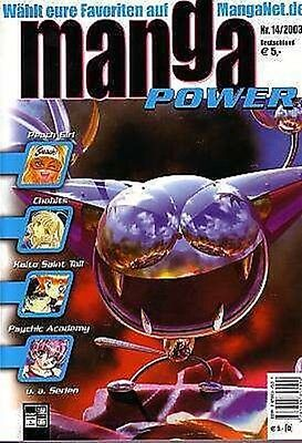 Manga Power Nr. 14 u.a Peach Girl, Chobits, Turn A Gundam, Psychic Academy