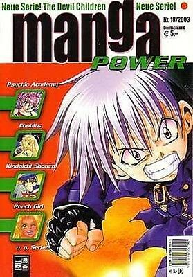 Manga Power Nr.18 u.a Peach Girl, Chobits, Devil Children, Psychic Academy, RAVE
