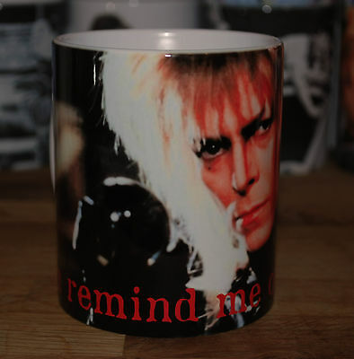 "New David Bowie As The Goblin King ""you Remind Me Of The Babe"" Labyrinth Mug"