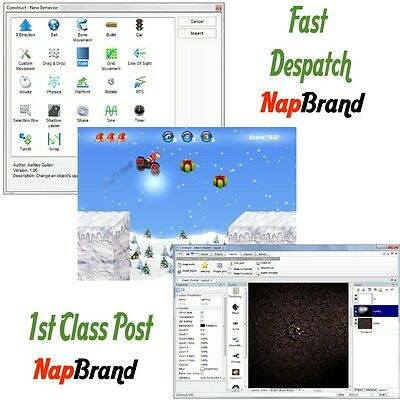 ADVANCED GAME CREATOR  Direct X9 2D Game Creation  PC