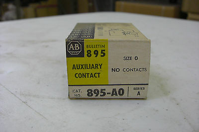 Lot of 28 New Allen Bradley 895-A0 Auxiliary Contact Size 0