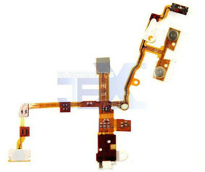 White Power Flex Cable for Iphone 3G/3GS 8GB/16GB/32GB Volume/silent/headphone