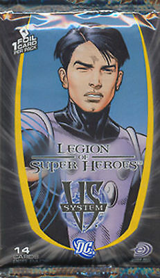 Dc Vs System Super Heroes Booster Pack New Sealed