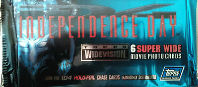 Independence Day Movie Trading Card Booster Pack New Sealed