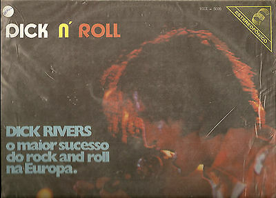 Dick Rivers 33 T. Vinyle Made In Brasil- Dick N'roll- O Maior Sucesso Do Rock An