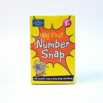Snap Number Cards 3+ Early Learning Pairs and Memory Game NEW