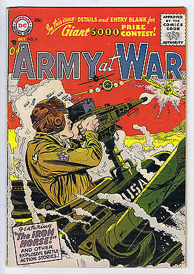 Our Army at War #51 DC Pub 1956