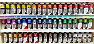 Daler Rowney Georgian Artist Oil Paints 75ml Tube Choose from 68 Paint Colours
