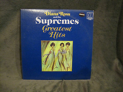 Diana Ross and the Supremes, Greatest Hits LP, MS-663 (2(S)), 1967 on Motown